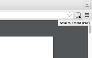 Sauvegarder un PDF avec le nouveau bouton